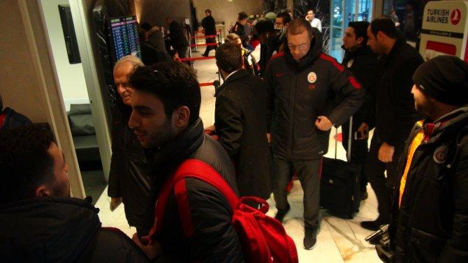Galatasaray, Osmanlıspor maçı için Ankara'ya gitti