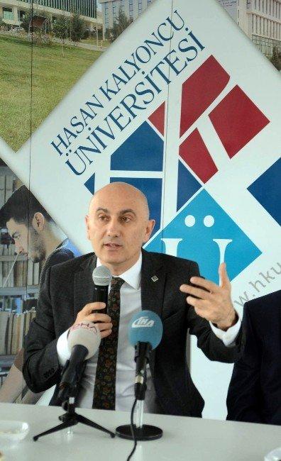 Hasan Kalyoncu Üniversitesi Rektörü Basınla Buluştu