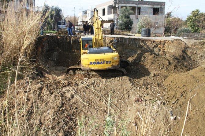 Hatay Büyükşehir Belediyesi'nden ulaşımı rahatlatacak köprü