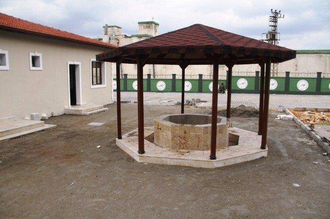 Reyhanlı Asri Mezarlık Kompleks İnşaatı Son Aşamaya Geldi