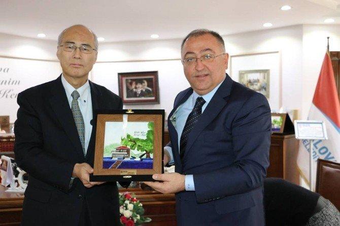 Japonya Başkonsolosundan Yalova Protokolüne Ziyaret
