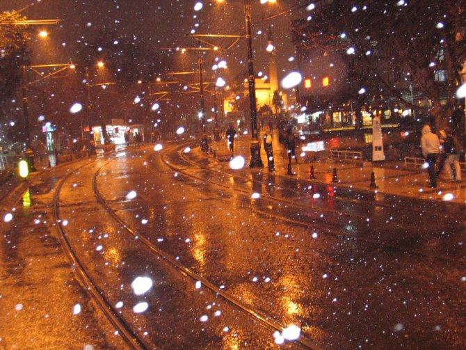 Kar etkisini bölgesel sürdürüyor