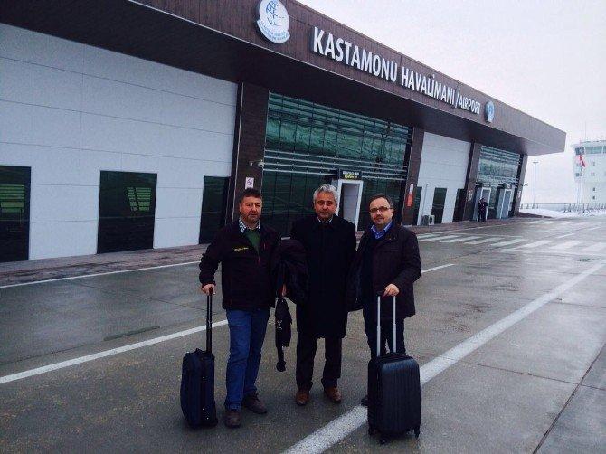 Kastamonu'dan Yurtdışına İlk Uçuş Gerçekleşti
