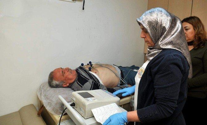 Kepez'de Kalp Sağlığı Taramaları