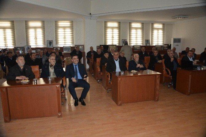Başkan Yardımcısı Yavuzlu, Muhtarlarla Buluştu