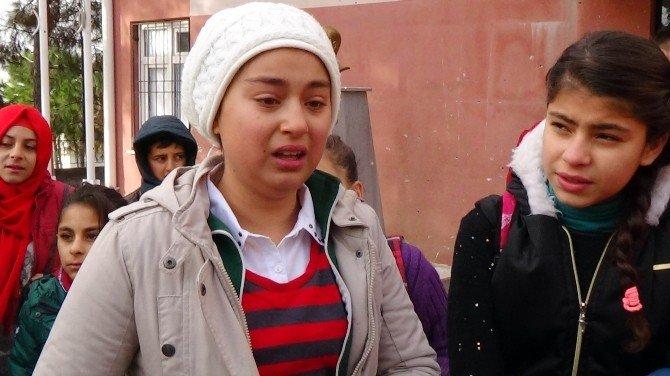 Füzenin Vurduğu Okulda Gözyaşıyla Karne Töreni
