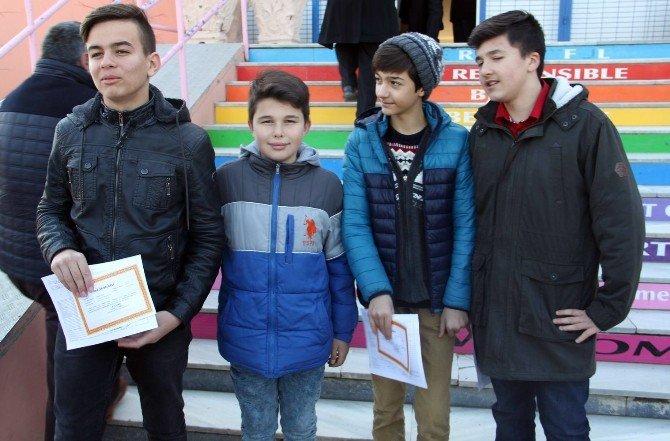 Babaeski 'De 5 Bin 278 Öğrenci Karne Aldı