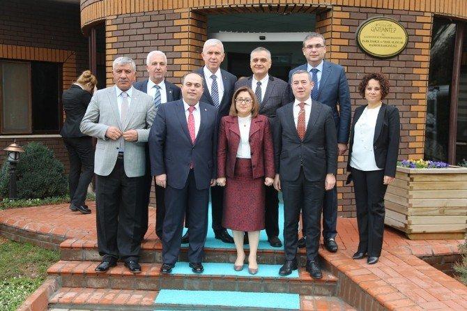 Oda Başkanlarından Fatma Şahin'e Ziyaret
