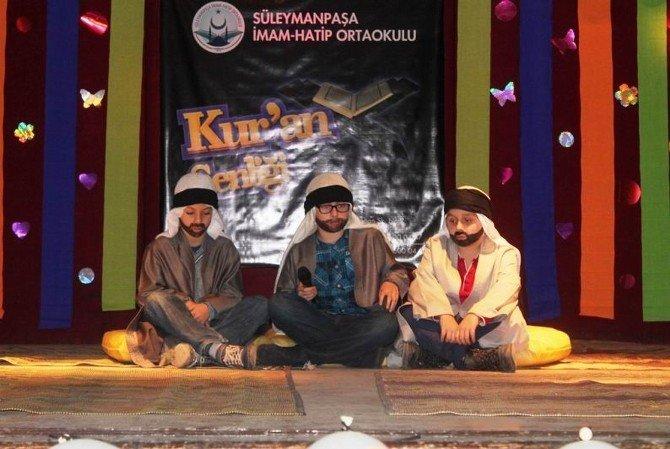 Süleymanpaşa İmam Hatip Ortaokulu'ndan Kur'an-ı Kerim Etkinliği