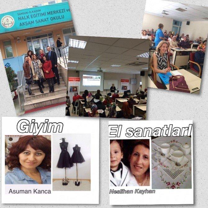 Girişimcilikte Önce Kadın Projesinde 10 Finalistin 2'si Samsun'dan