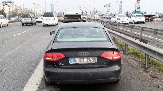 Polisin Nezaretinde Adliyeye Giderken Kaçan Şahsa Araç Çarptı