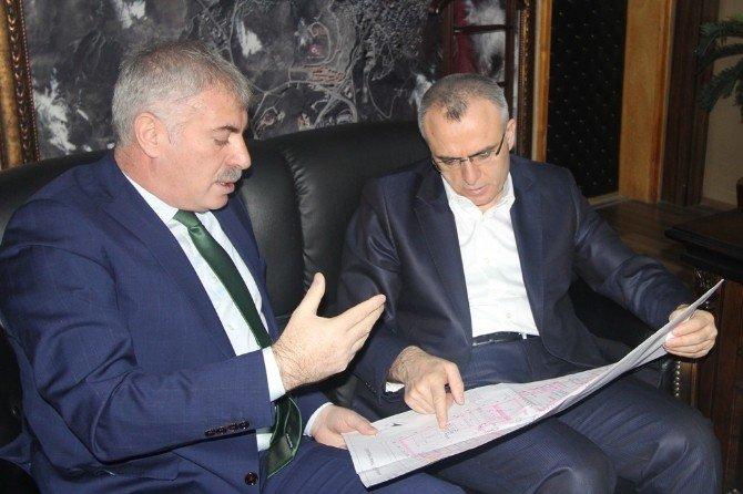 """Bakan Ağbal'ın Başkanlığında """"Tarım Yerleşkesi"""" Toplantısı Yapıldı"""