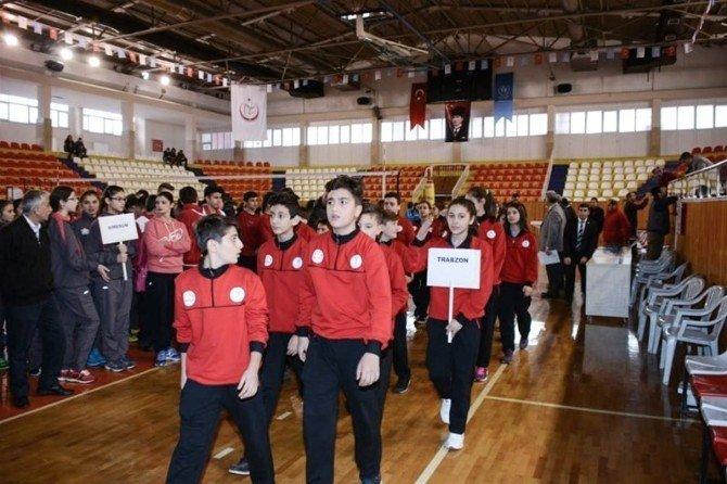 Tokat'ta Analig Voleybol Grup Müsabakaları Başladı