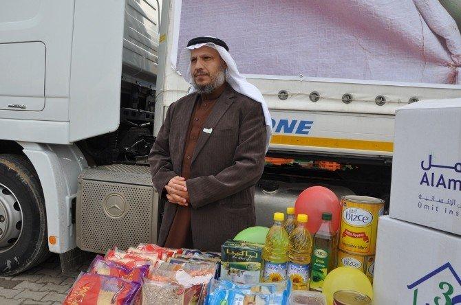 Al Amal Derneğinden Suriye'ye 140 Tır Yardım