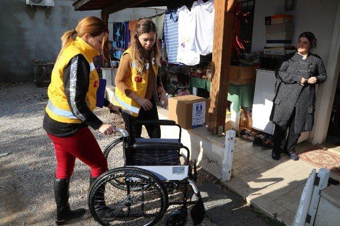 Bodrum Belediyesi'nin Yardımları Sürüyor