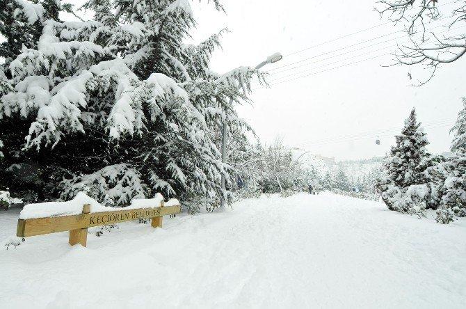 Kar, Keçiören'e Çok Yakıştı
