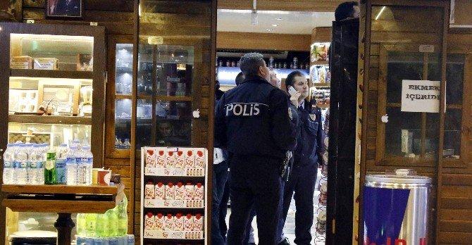 Antalya'da Pompalı Tüfekle Market Soygunu