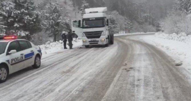 Domaniç Dağı'nda Tehlikeli Yolculuk