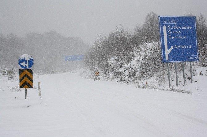 Amasra'da Kar Ve Tipi Etkili Oluyor