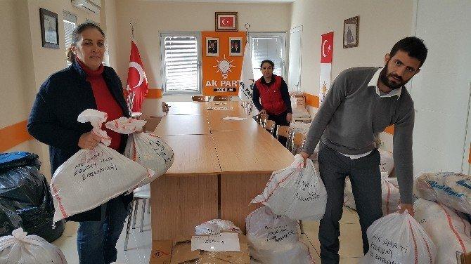Bodrum AK Parti Türkmen Kardeşlerini Unutmadı