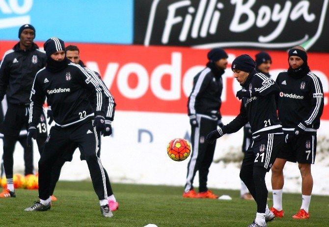 Beşiktaş, Trabzonspor Maçı Hazırlıklarını Tamamladı