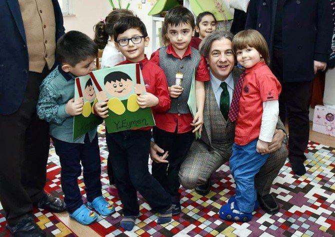 Başkan Demircan Öğrencilerin Karne Sevincine Ortak Oldu
