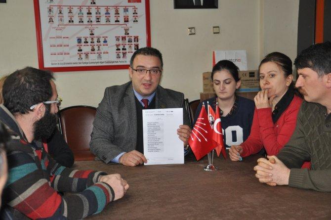 Artvin CHP'den, yerel esnafa destek çağrısı
