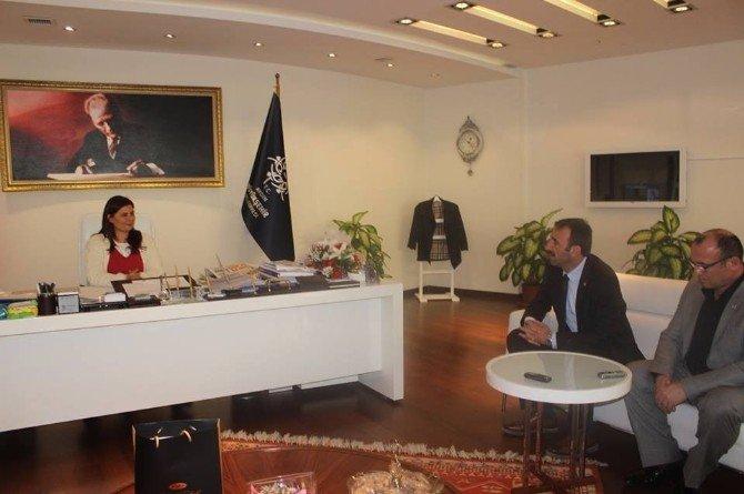 Didim CHP'den Büyükşehir Belediyesine Ziyaret