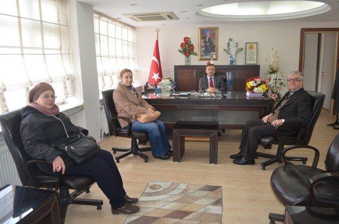 CHP Heyeti Kaymakam Güven'i Ziyaret Etti