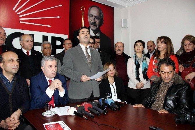 CHP Siyah Çelenk Ve Kasetli Saldırıyı Kınadı