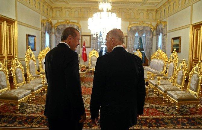 Cumhurbaşkanı Erdoğan, Joe Biden İle Görüşüyor