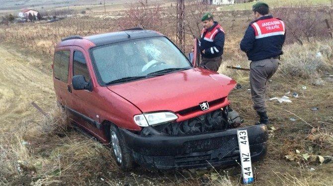 Elazığ'da Trafik Kazası: 1'i Polis 6 Yaralı