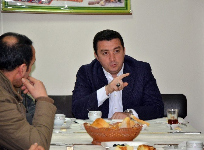Başkan Bakıcı, Eskiyüreğil Derneği'nin Kahvaltı Programına Katıldı