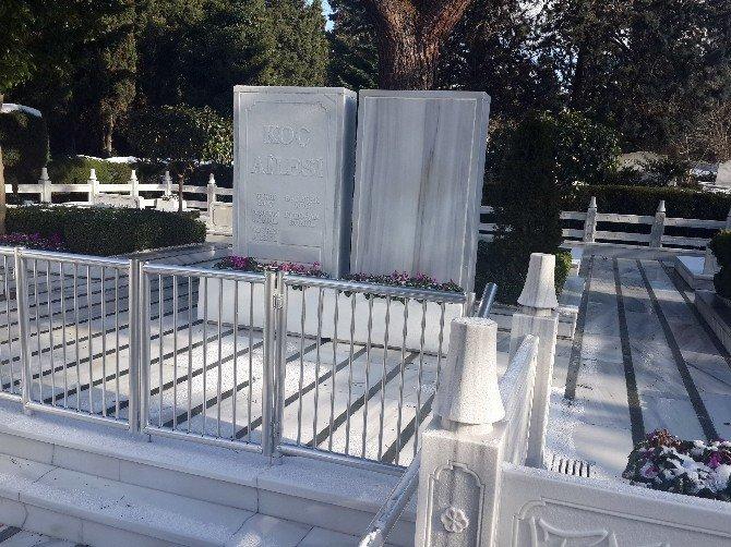 Mustafa Koç'un Cenazesi İçin Zincirlikuyu Mezarlığı'nda Hummalı Çalışma