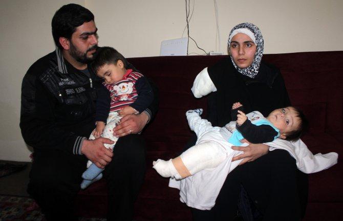 Kazada kolu kopan Suriyeli anne: Çocuklarımı kucağıma alamamak beni üzüyor