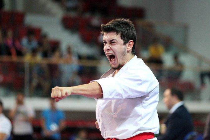 Karate 1 Premier League'in ilk ayağında ilk madalya Yakan'dan geldi
