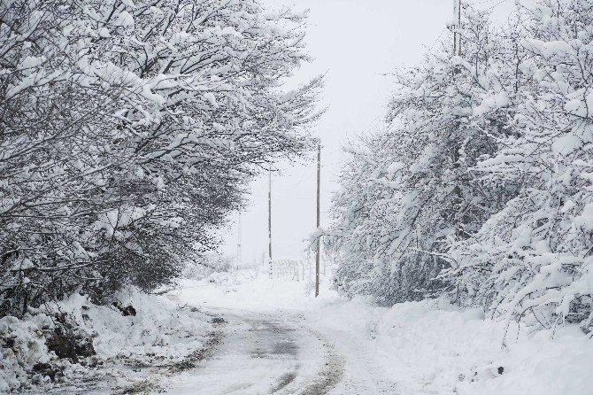 İlkadım'da Yoğun Kar Mesaisi