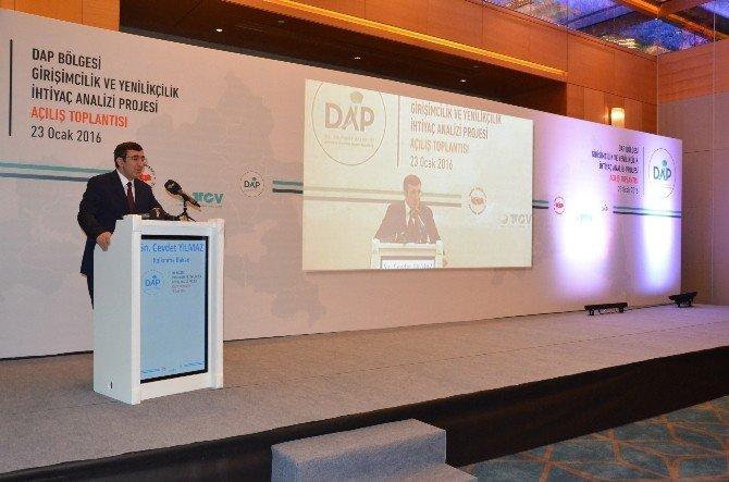Malatya'da DAP Bölgesi Girişimcilik Ve Yenilikçilik İhtiyaç Analizi Projesi'nin Açılışı Yapıldı