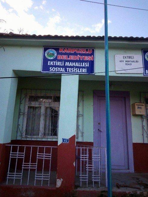 Karpuzlu Belediyesi Mahallelerde Hizmetlerini Sürdürüyor