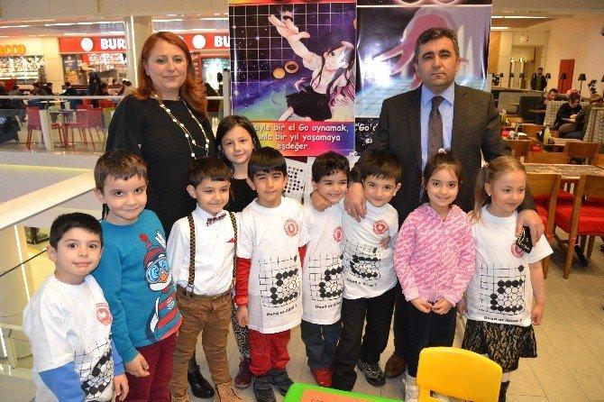 Mustafa Müjgan Boydak İlkokulu Anasınıfı Öğrencilerinden Go Etkinliği