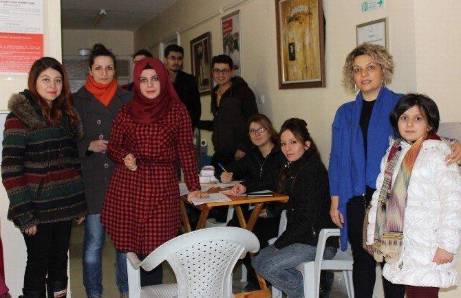 Kırşehirliler, Eda İçin Kan Toplanma Merkezine Akın Etti