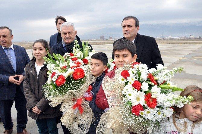 Bakan Ünal Ve Bakan Yıldırım Kahramanmaraş'ta