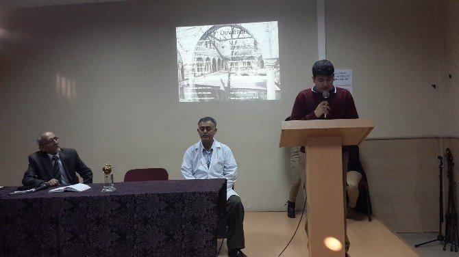 Ticaret Borsası Anadolu Lisesi Şiir Dinleti Günleri Düzenledi