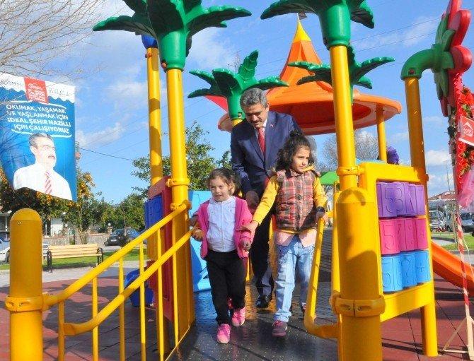Nazilli'de 'Engelsiz Yaşam Parkı' Hizmete Girdi