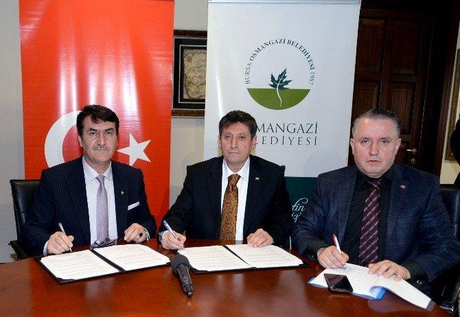 Osmangazi'de Sosyal Denge Sözleşmesi İmzalandı