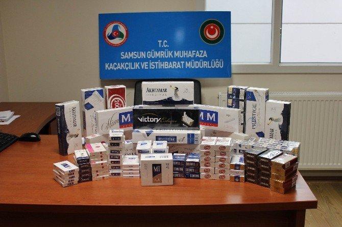 Samsun'da 177 Milyon TL'lik Kaçak Ürün Ele Geçirildi
