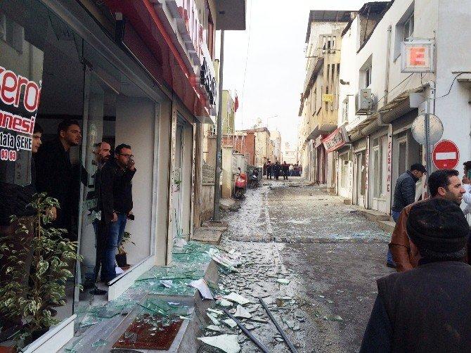 Kilis'e Suriye Tarafından Atılan Bir Roket Daha Düştü: 1 Yaralı