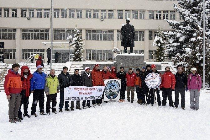 Dağcıların Zigana Kış Temel Eğitim Kampı Başladı