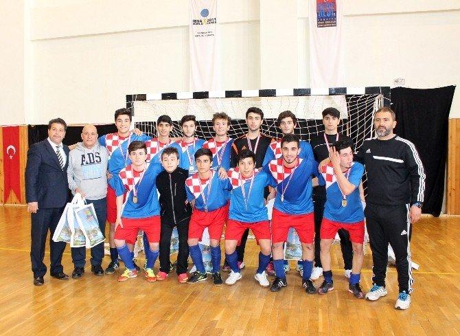 Futsal Genç Erkekler Türkiye Şampiyonası Grup Maçları Sona Erdi