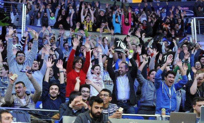 2016 All-star Heyecanı Ülker Sport Arena'da Yaşandı